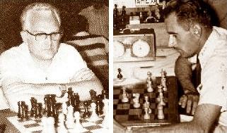 Los ajedrecistas Joan Segura y Salvador Vila Sala