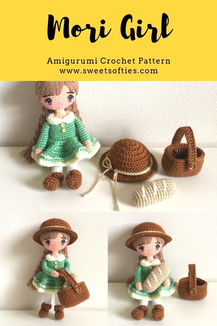 Mori Girl Amigurumi Crochet Anime Doll by Sylemn on DeviantArt | 1102x735