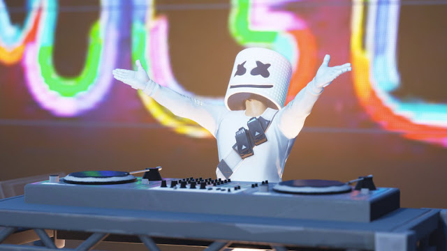 Fortnite Marshmello was a strange, Fortnite Marshmello, Fortnite, Marshmello, Video game, game, games, gaming, music, ENTERTAINMENT, video games news,