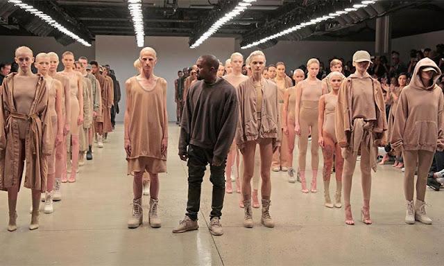 Kanye West lanza la temporada 4 de Yeezy en New York Fashion Week.