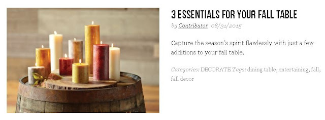 Fall Essentials From Cost Plus