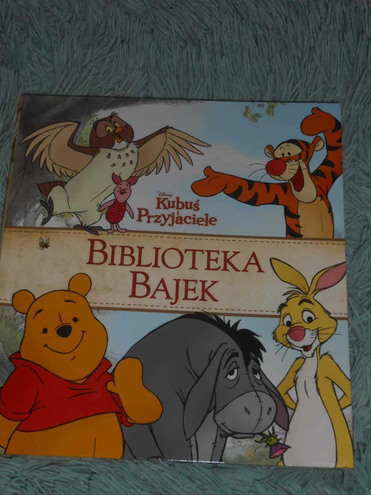 EGMONT- Biblioteka Bajek. Disney Kubuś i przyjaciele