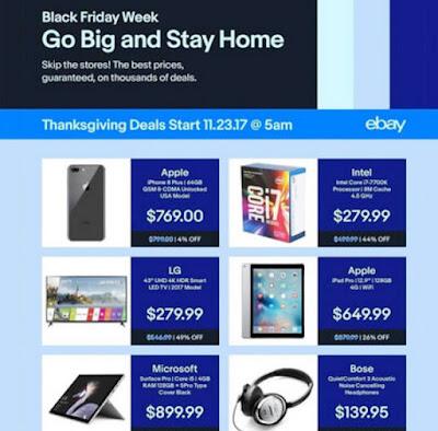 eBay's Thanksgiving & Black Friday Ads