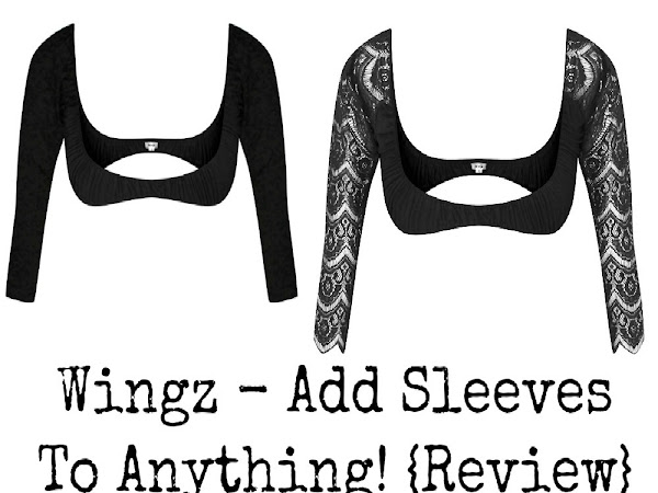 Wingz - Add Sleeves To Anything! {Review}