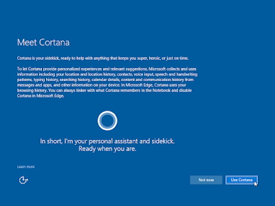 """Ingin mengaktifkan """"Cortana"""" atau tidak, itu pilihan kamu!"""