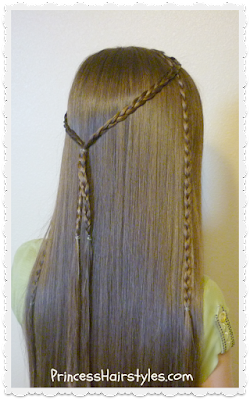 "Easy and quick ""70's braids"" tutorial"