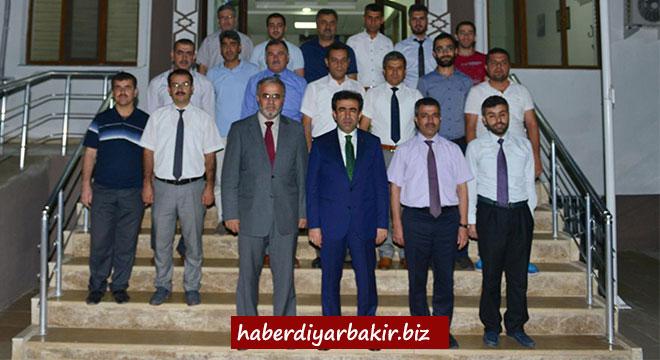 Diyarbakır Valisi Güzeloğlu'ndan il müftülüğüne ziyaret