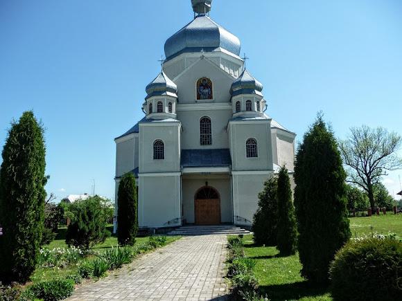 Лысовичи. Церковь Димитрия Солунского. 1996 г. УГКЦ
