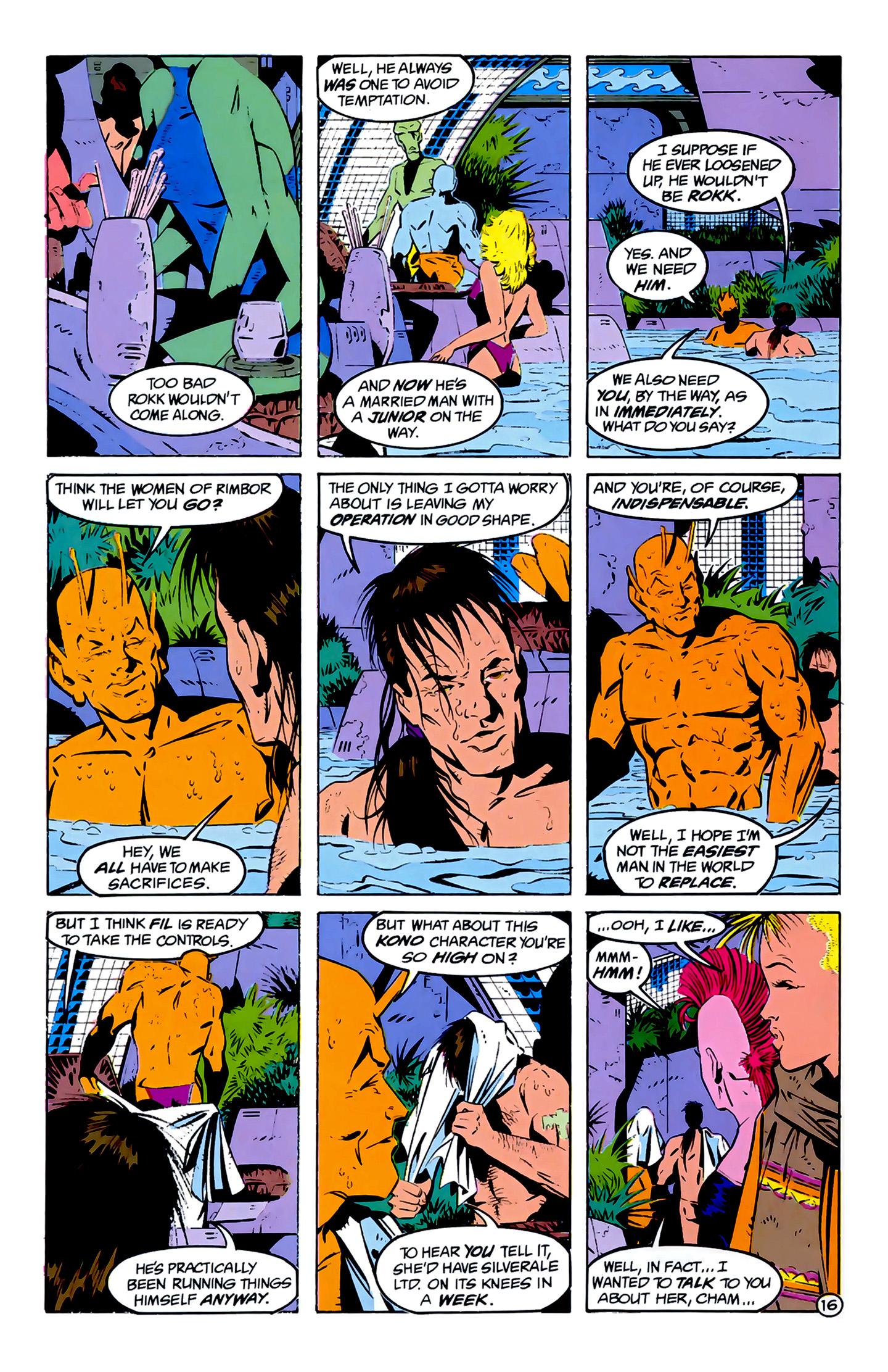 Legion of Super-Heroes (1989) 3 Page 16
