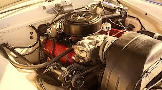 1962 Studebaker Gran Turismo Hawk  Engine 02