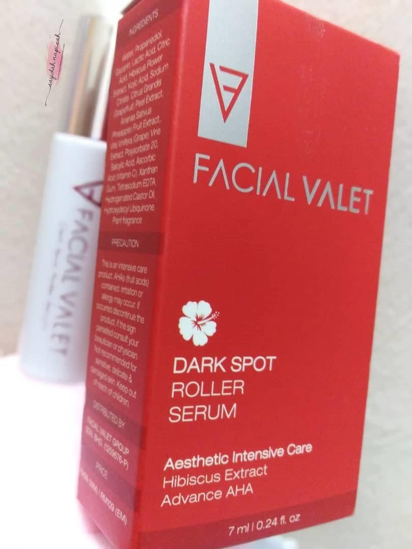Berebut Nak Guna Facial Valet Roll-On Serum | Khas untuk Masalah Jeragat
