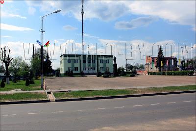 Памятник Ленину в Плещеницах