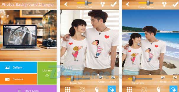 software android pengganti background foto