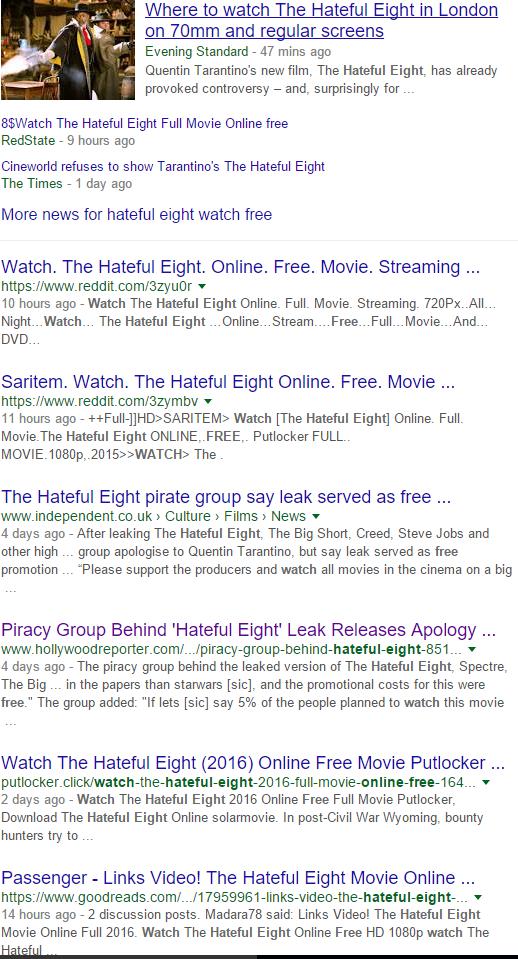 Star Wars 8 Streaming Vo : streaming, Protection, Digital, Hateful, Eight, Shows, Analysis, Piracy, Debate