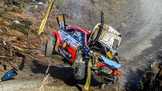 Thierry Neuville explains his huge WRC Rally Chile crash