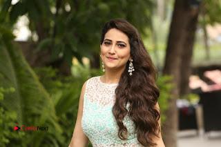 Actress Anchor Manjusha Stills in Long Dress at Srirastu Subhamastu Success Meet  0242
