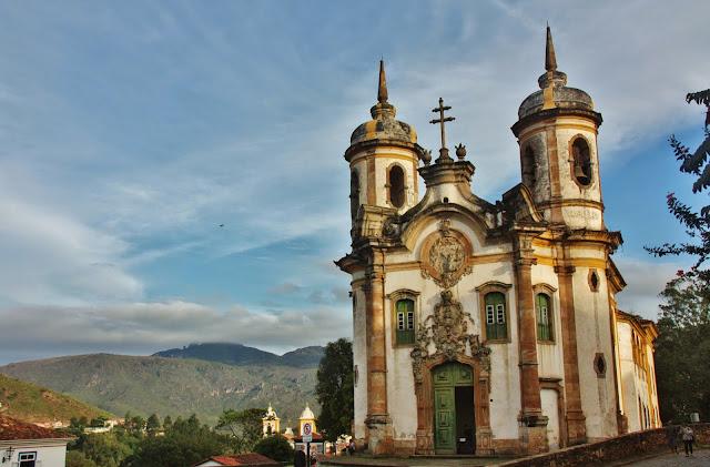 Igreja São Francisco de Assis, em Ouro Preto
