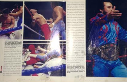 WWE - WWF RAW MAGAZINE 1997: The night Honky Tonk Man beat Ricky Steamboat 2