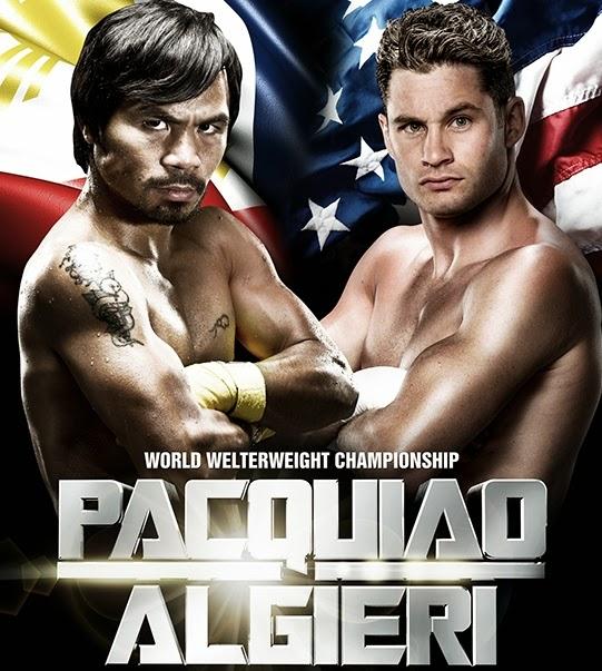 Manny Pacquiao vs Chris Algieri WBO Fight Live Results, Tweets, Livestream