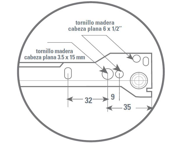 Tutorial melamina y mueble correderas metalicas simples para muebles ...