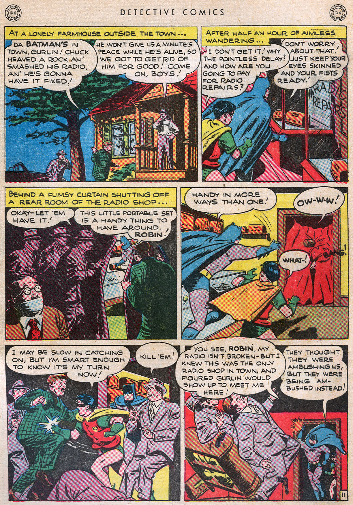 Read online Detective Comics (1937) comic -  Issue #105 - 13