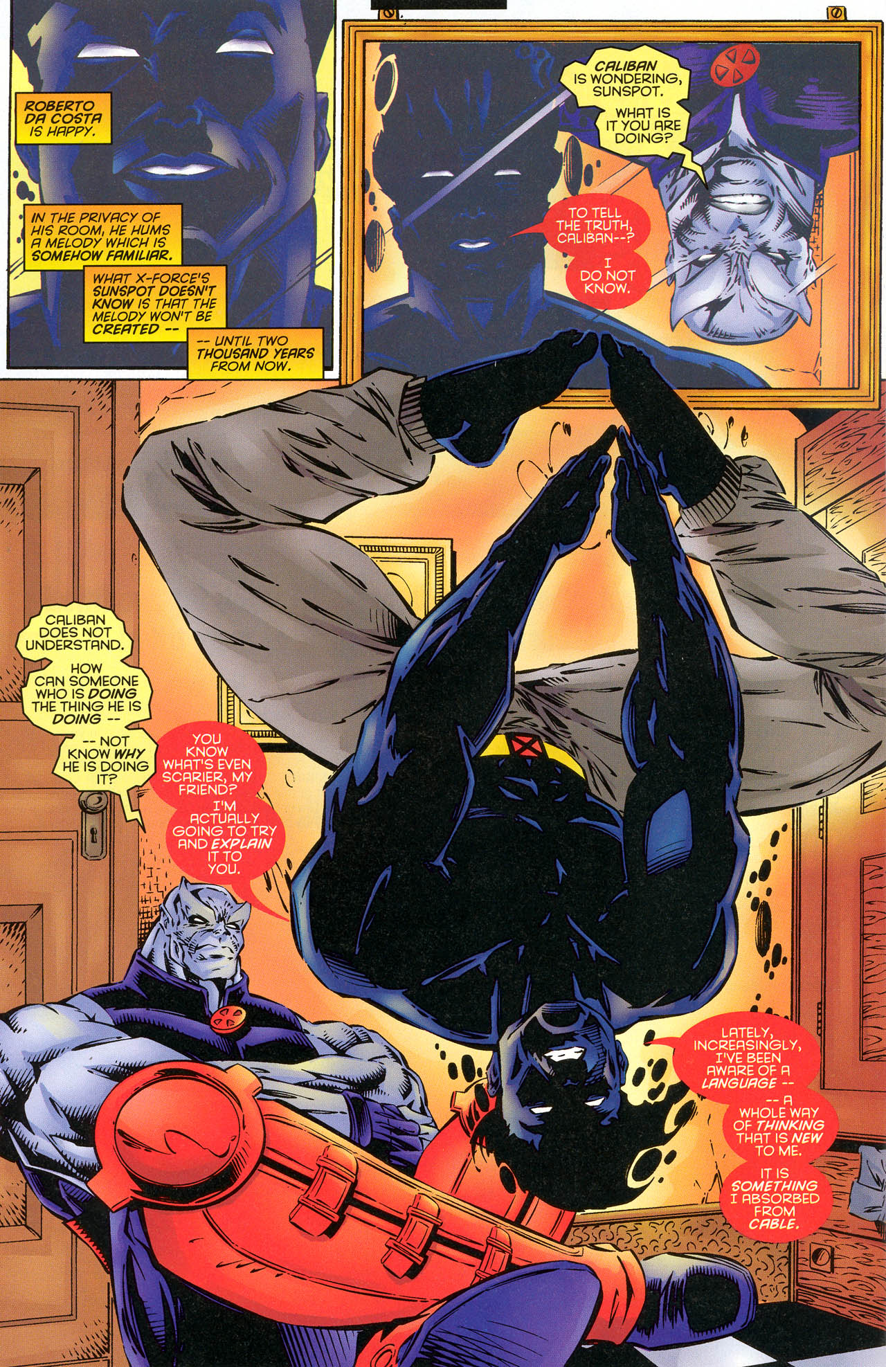 Read online X-Force (1991) comic -  Issue #51 - 18