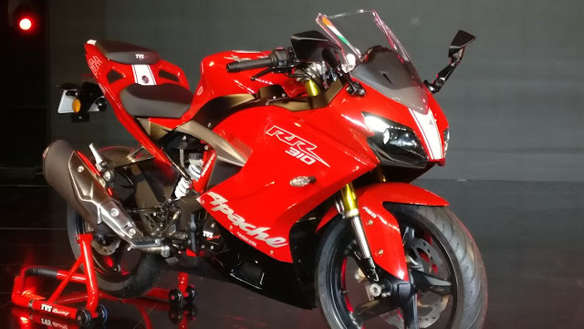New 2018 TVS Apache RR 310 Racing sport Hd Picture 03
