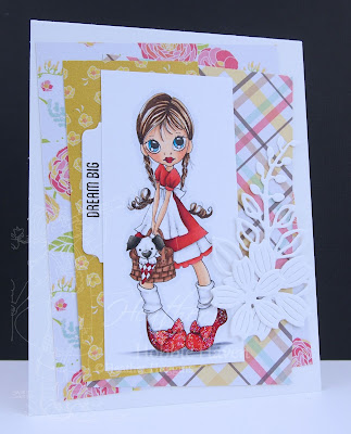 Heather's Hobbie Haven - Just for Fun Saturday Card - Pigtails