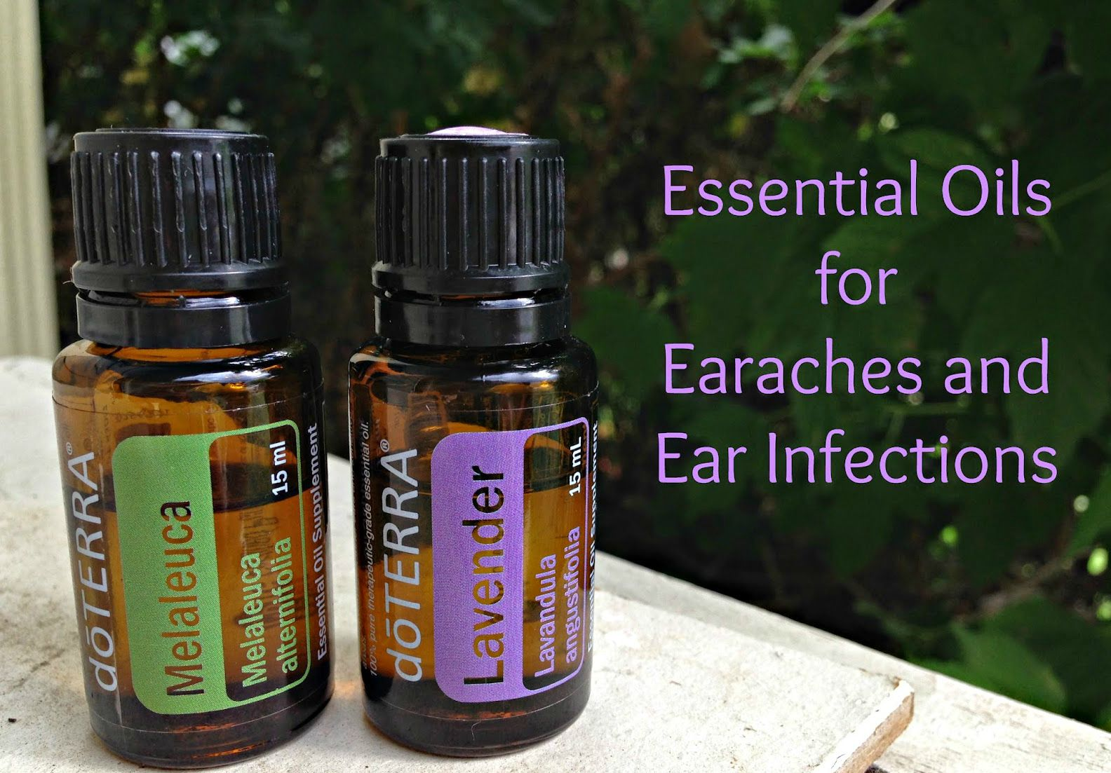 Hippie Living 4 Life Essential Oils For Earache And Ear Infections