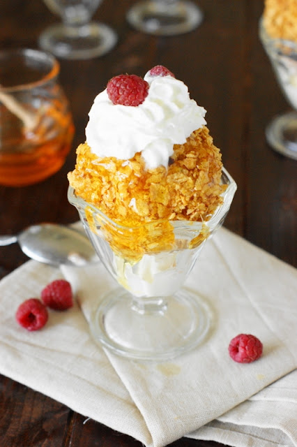 40+ Food & Drink Recipes for Cinco de Mayo Fun - Fried Ice Cream Image