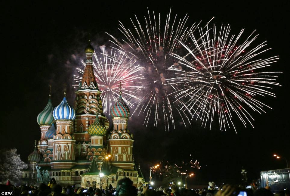 31st December 2018 New Year Eve Celebration Fireworks Photos