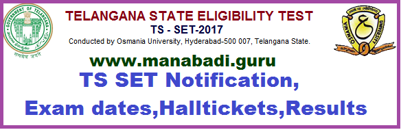 TS SET,TS CETs,Notifications,Entrnce tests,Halltickets