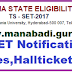 TS SET 2017,Telangan State Eligibility Test Hall tickets Download @telanganset.org