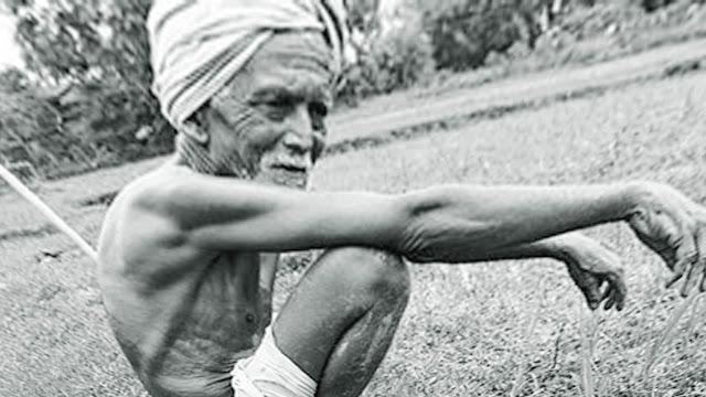देश चलाने वाले किसान का जीवन