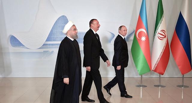 Declaración conjunta de los líderes de Rusia, Irán y Azerbaiyán