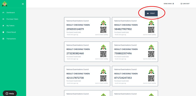 Purchase NECO Result Checker Token for SSCE & BECE [PHOTOS]