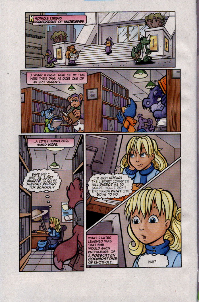 Read online Sonic The Hedgehog comic -  Issue #142 - 3