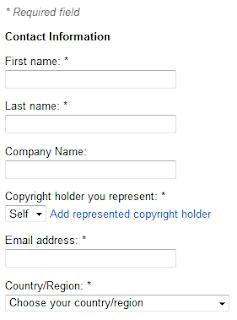 Cara Melaporkan Artikel di curi Copaser ke Google DMCA