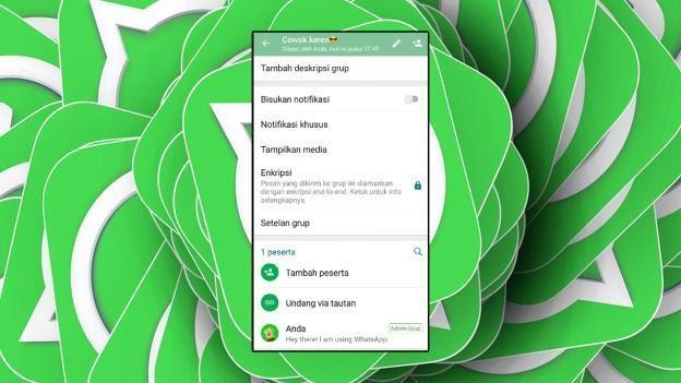 Cara Gabung/Masuk Kembali Ke Grup WhatsApp Yang Sudah Keluar
