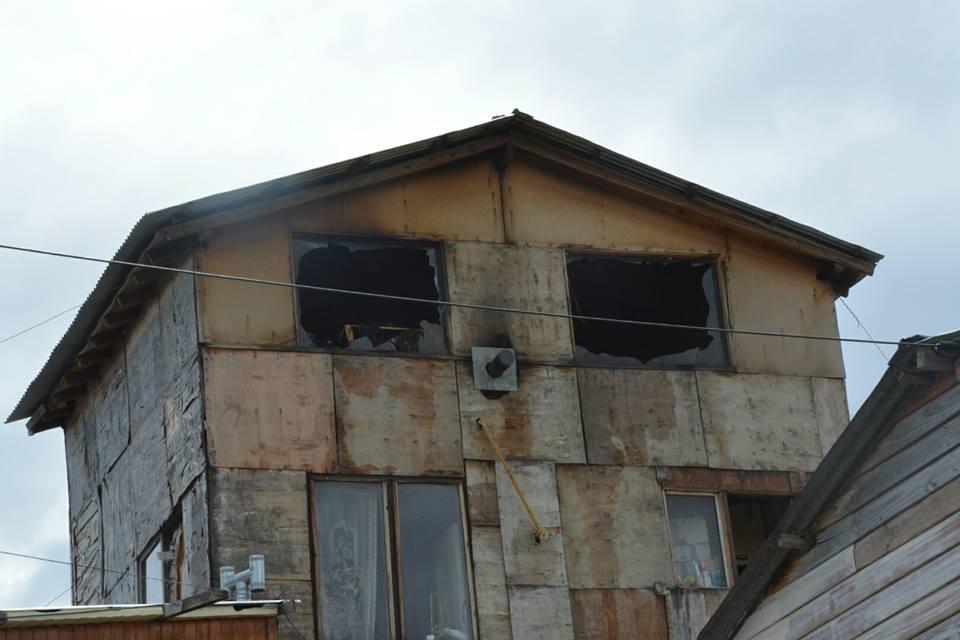Incendio en Ushuaia mujer con quemaduras