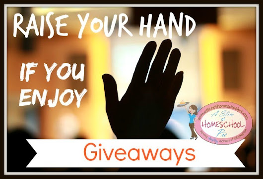 Raise Your Hand If You Enjoy Giveaways!