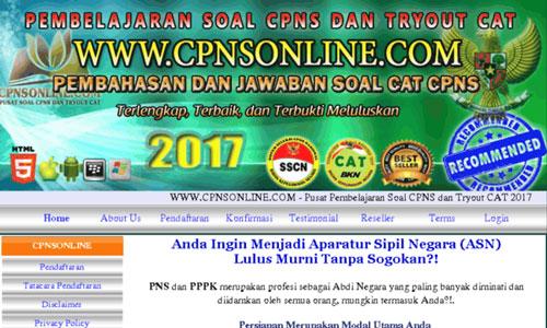 Contoh Soal CAT CPNS Kemenkumham 2018 Formasi SLTA SMA D3 dan S1