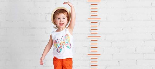 Παίζει ρόλο η διατροφή στο ύψος του παιδιού;