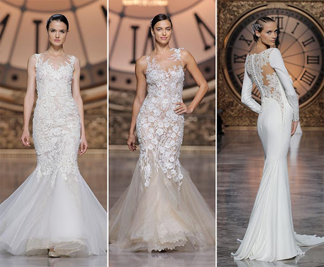 Like fashion edressit pear shaped brides can wear mermaid for Wedding dresses for pear shaped women