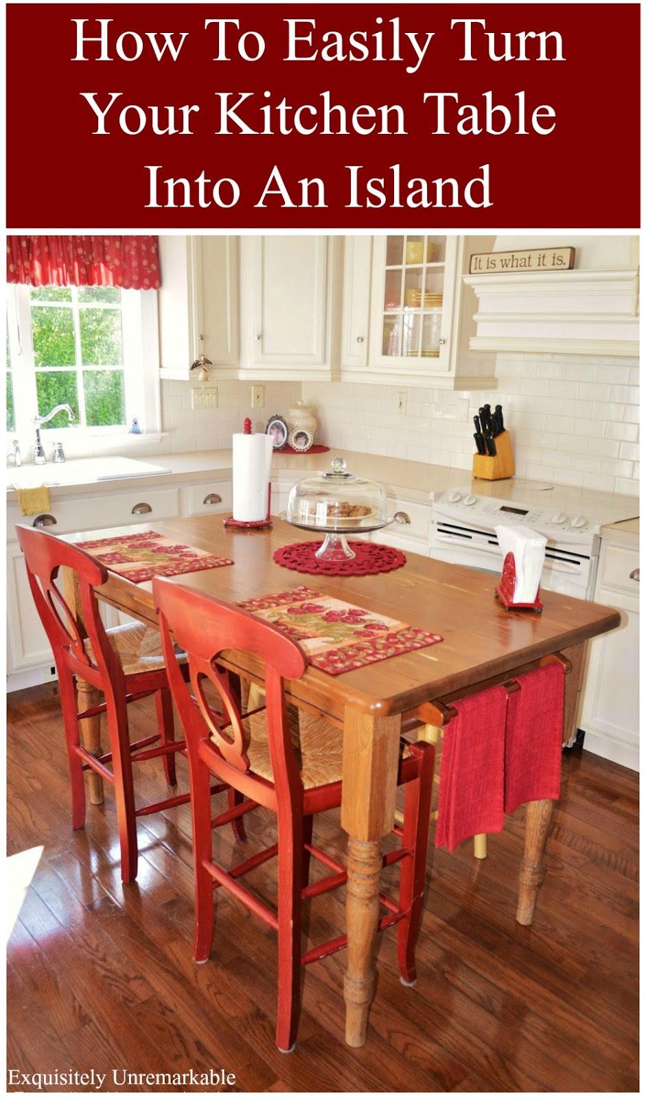 decorating cheats farmhouse table make kitchen table Farmhouse Table Makeover DIY
