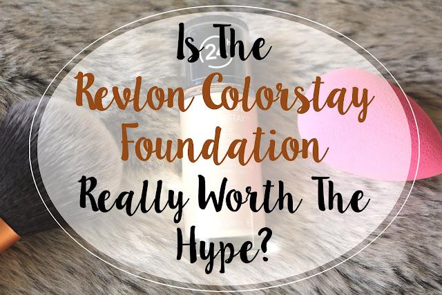 Revlon Colorstay Foundation review