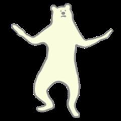 Extremely Polar bear Animated.