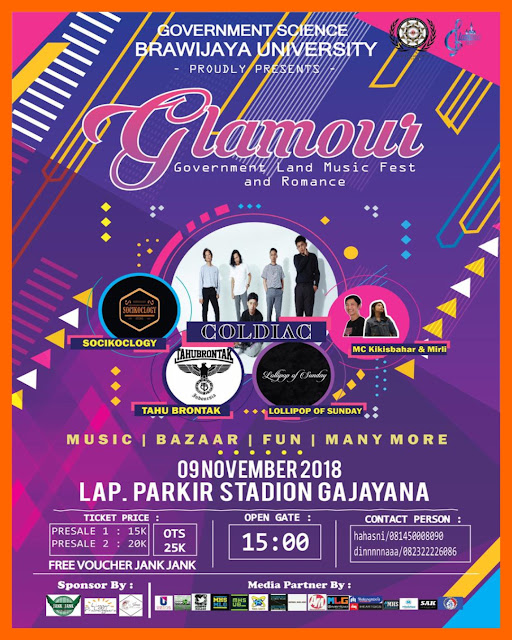 GLAMOUR 2018  Government Land Music Fest and Romance