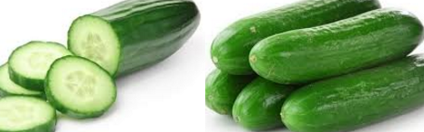 Cucumber slices Home Remedy for Baggy Eyes and Dark Circles