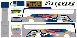 Livery Bussid Discovery 4